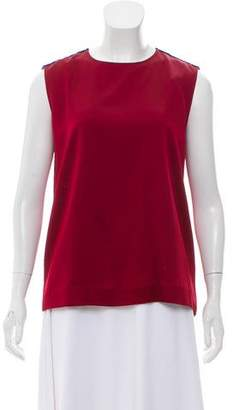 Haider Ackermann Sleeveless Scoop Neck Top w/ Tags