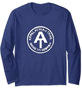 Rustic Appalachian Hiking Trail Marker Long Sleeve T-Shirt