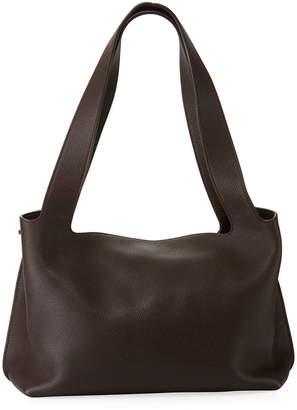 The Row Duplex Small Calfskin Satchel Bag