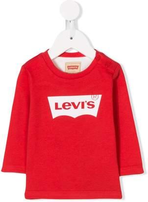 Levi's (リーバイス) - Levi's Kids ロゴプリント トップス