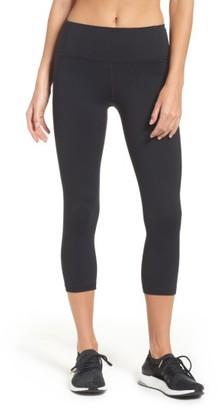 Women's Under Armour Mirror High Rise Crop Leggings $69.99 thestylecure.com
