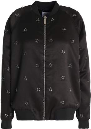 Zoe Karssen 装飾付き サテン ボンバージャケット