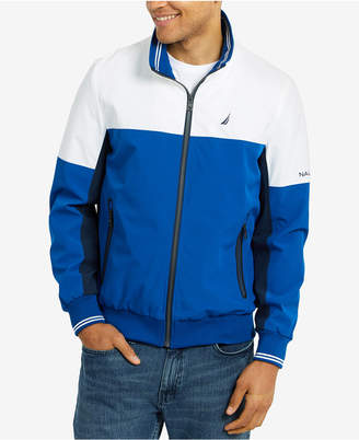 Nautica Men Colorblocked Track Jacket