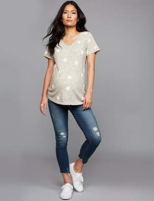 Articles of Society Secret Fit Belly Suzy Crop Maternity Jeans