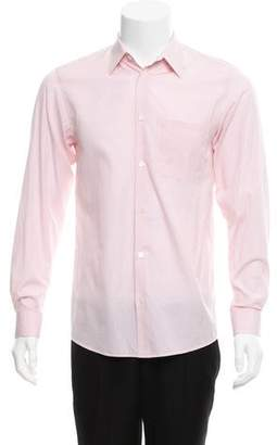 Helmut Lang Vintage Woven Button-Up Shirt