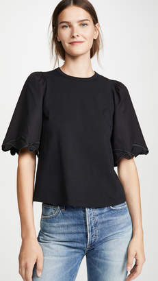 See by Chloe Puff Sleeve Tee
