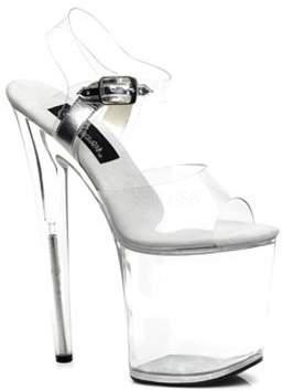 Pleaser USA 8 Inch High Heel Platform Sandal