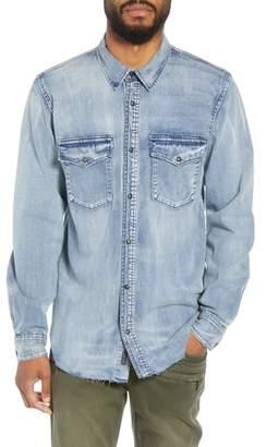 Hudson Jeans Regular Fit Denim Shirt
