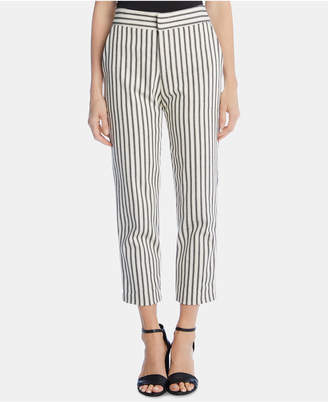 Karen Kane Striped Cropped Pants