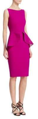 Chiara Boni Sleeveless Peplum Dress