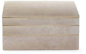 AERIN Valentina Dune Stacked Jewellery Box