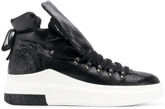 Cinzia Araia hi-top trainers