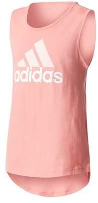 adidas Girl's Logo Tank
