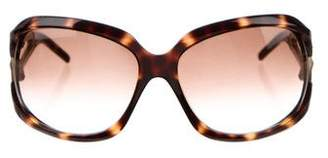 Jimmy Choo Oversize Gradient Sunglasses