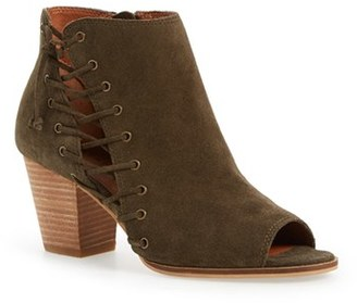 Women's Lucky Brand 'Hartlee' Open Toe Bootie $128.95 thestylecure.com
