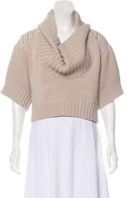 Marc by Marc Jacobs Ribbed Crop Sweater