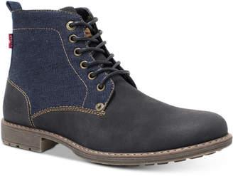 Levi's Men's Lakeport Denim Boots Men's Shoes
