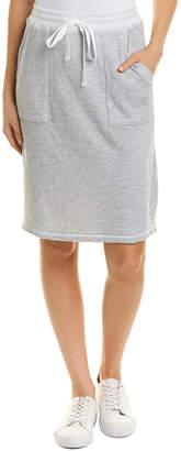 Three Dots Special Beach Terry Skirt