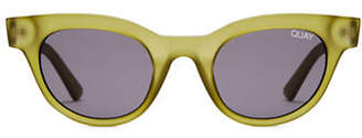 Quay 47MM Kylie Cat-Eye Sunglasses