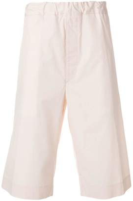 Jil Sander elasticated knee shorts