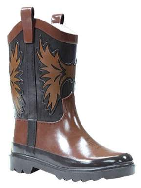 Western Chief Boys' Western Cowboy Rain Boot