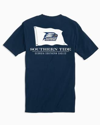 Southern Tide Gameday Nautical Flags T-shirt - Georgia Southern University