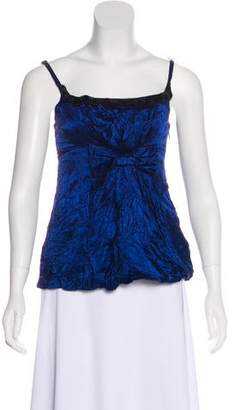 Marc Jacobs Sleeveless Bow-Accented Top
