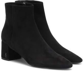Saint Laurent Loulou 50 suede ankle boots