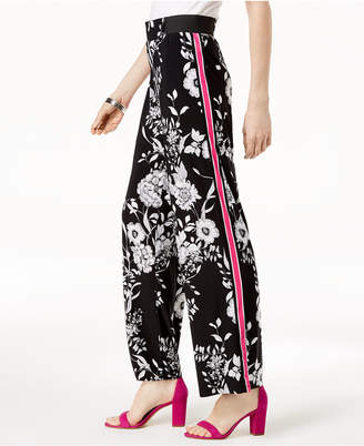 INC International Concepts I.n.c. Side-Stripe Palazzo Pants, Created for Macy's