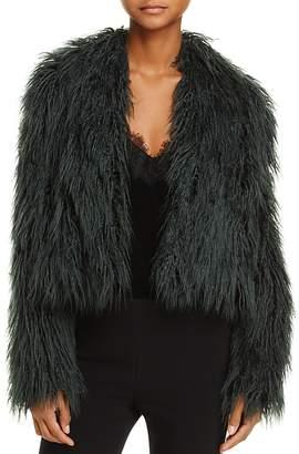 Enchanted Faux-Fur Coat