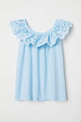 H&M Bohemian-style Blouse - Blue