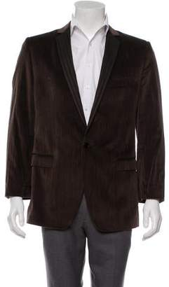 Dolce & Gabbana Velvet One-Button Blazer