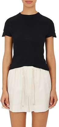 Helmut Lang Women's Pocket-Sleeve Cotton Jersey T-Shirt $140 thestylecure.com