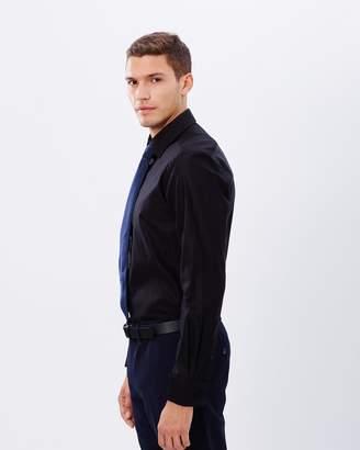 Brooksfield Plain Luxe Slim Fit Single Cuff