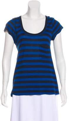 A.L.C. Short Sleeve Striped T-Shirt