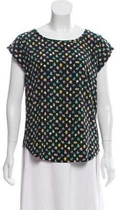 Joie Printed Short Sleeve Top