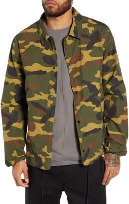 Herschel Camo Coach's Jacket