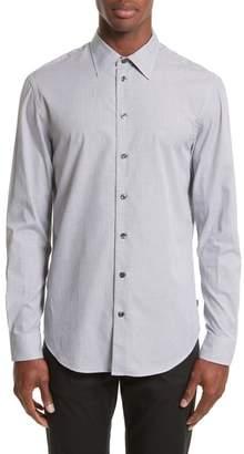 Armani Collezioni Regular Fit Check Sport Shirt