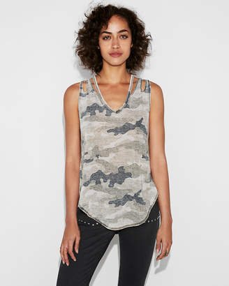 Express One Eleven Camo Slashed London Tank