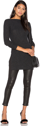 Autumn Cashmere Ribbed Boatneck Sweater $297 thestylecure.com