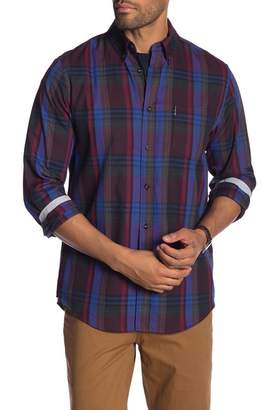 Ben Sherman Plaid Long Sleeve Shirt