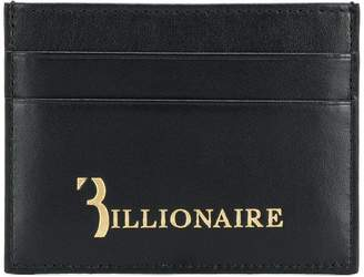 Billionaire logo cardholder wallet