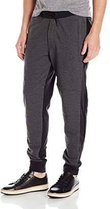 Kenneth Cole Reaction Men's Jogger Pant with Pleather