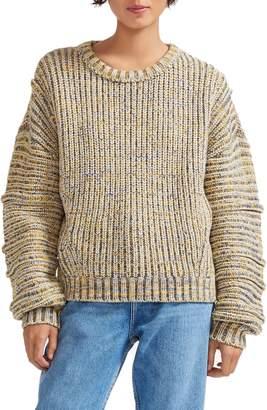 Maje Marled Knit Sweater