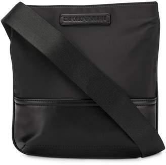 Emporio Armani logo messenger bag