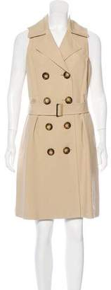 Michael Kors Sleeveless Trench Dress w/ Tags