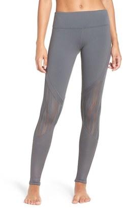 Women's Alo 'Vitality' Mesh Inset Leggings $110 thestylecure.com