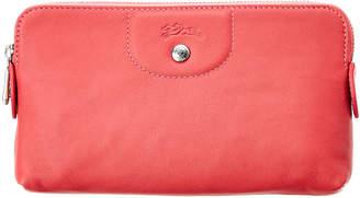 Longchamp Le Pliage Cuir Leather Pouch