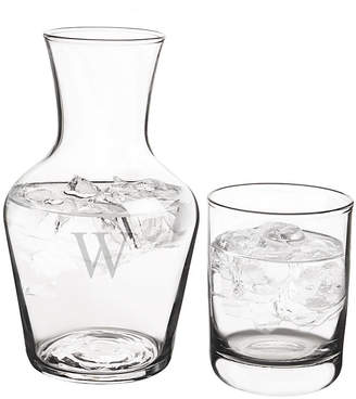 Cathy's Concepts CATHYS CONCEPTS Personalized 16.75-oz. Bedside Water Carafe Set