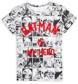 Eleven Paris Little Boy's & Boy's Batro Comic Print Batman Tee
